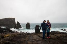 Reykjanesviti bāka un klintis